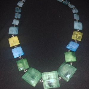 Blue/Green Necklace